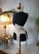 3 antique wedding corset 1885