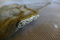 4 antique metal mesh purse 1915