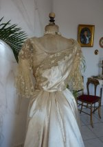 38 antique evening dress WORTH 1898