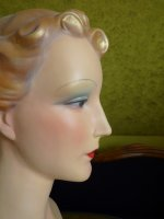 11 antique shop display mannequin 1930