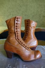6 antique RADCLIFFE boots 1916