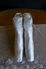 2 antique HOBBS Wedding Boots 1860
