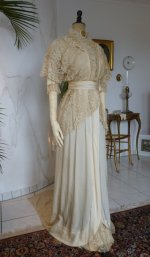 12 antique wedding gown