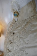 16 antique rococo wedding coat 1740