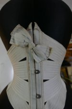 1 antique summer corset 1895