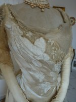 11 antique evening dress WORTH 1898