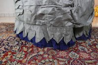 15 antique bustle dress 1884