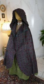 3 antique hooded cape 1790