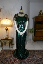 2 antique evening dress 1912