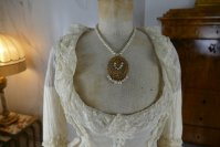 1 antique bustle lingerie 1880