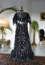 18 antique ball gown 1904
