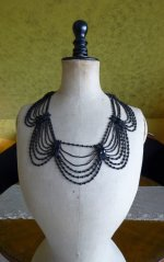 2 antique necklace 1900
