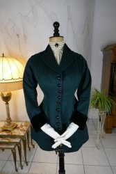 antique riding bodice 1890