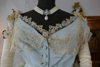 1 antique victorian ball gown 1859