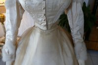 40 antique wedding dress 1876