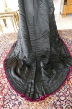 31 antique Pingat bustle dress 1880