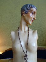 4a antique wax mannequin 1920