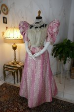 2 antique ball gown 1895