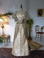 18 WORTH evening dress 1898