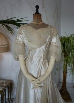 3 antique edwardian wedding dress 1909