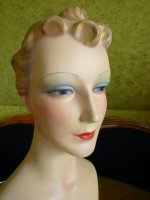 7 antique shop display mannequin 1930
