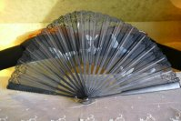 9 antique fan butterflys 1905