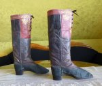 12 antique riding boots 1850