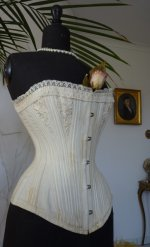 6 antique bridal corset