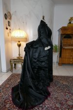 34 antique Pingat bustle dress 1880