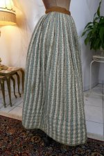 16 antique Biedermeier petticoat 1830