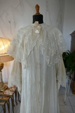3 antique dressing gown 1890