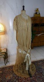 2 antique Drecoll Negligee 1912