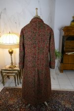 19 antique Mens dressing coat 1865
