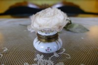 3 antique little Boudoir jar 1920