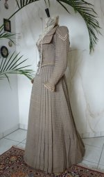 8 antique walking dress