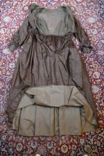 55 antique afternoon dress 1840