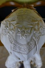 6 antique wedding bonnet 1870