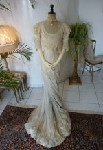 2 antique wedding gown