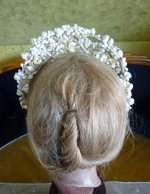 10 antique wax tiara 1912