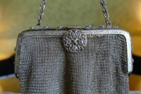 1 antique metal mesh purse 1915