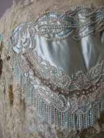 19 antique evening gown Worth 1894