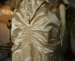 10 antique bustle wedding gown 1879