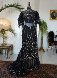 antique ball gown 1904