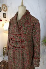 11 antique Mens dressing coat 1865