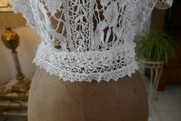 3 antique lace blouse 1916