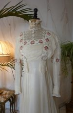1 antique wedding dress 1910