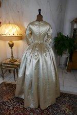 19 antique wedding dress 1845