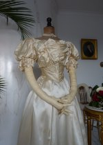 8 antique ball gown 1892