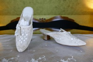 antique boudoire slipper 1904