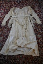 25 antique wedding dress Barcelona 1908